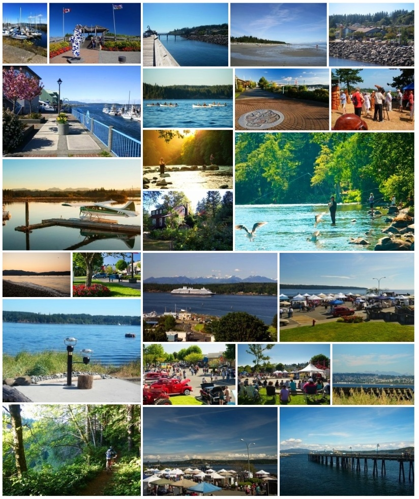 Campbell  River collage